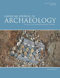 American Journal of Archaeology cover