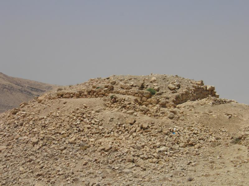 Fig. 43. Building A at Tell al-Mashhad, view from northeast (F. Benedettucci).