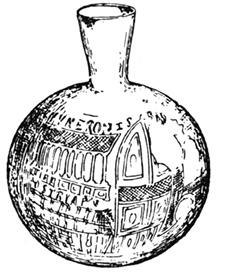 Fig. 2. The Ampurias flask (Gudiol 1941).