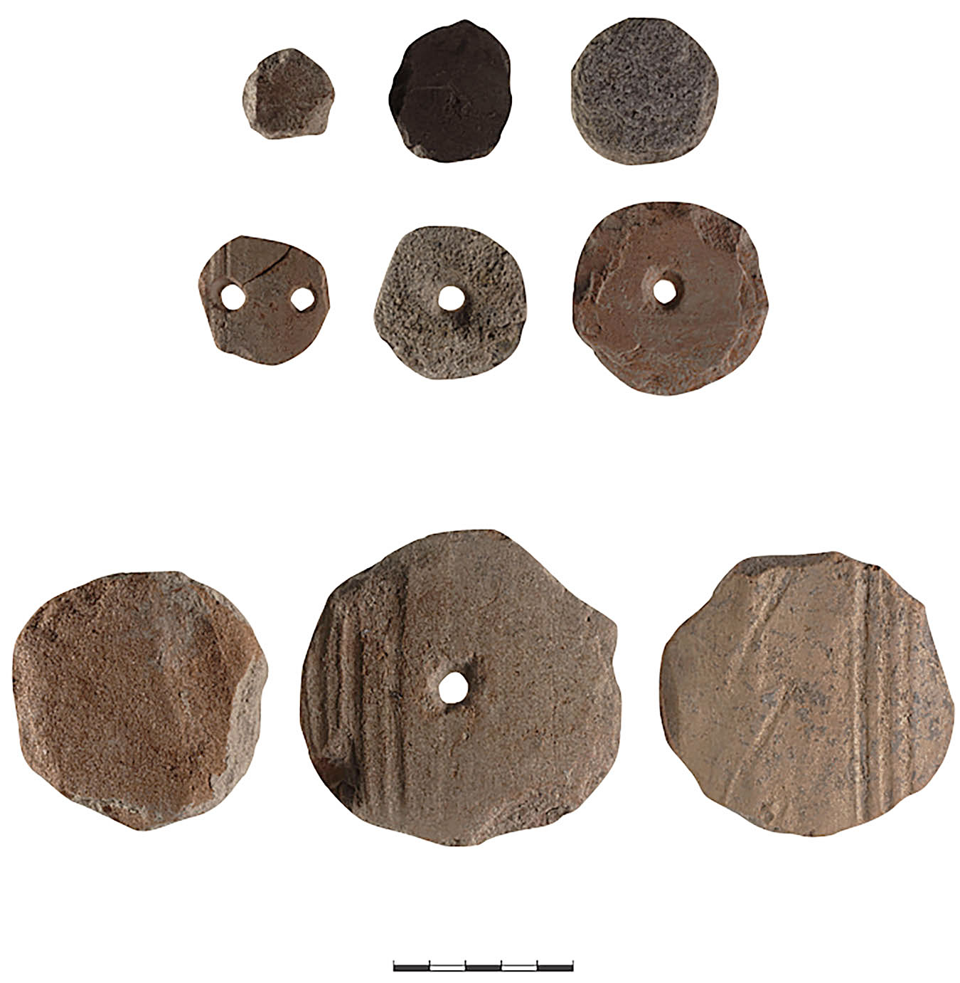 Fig. 11. A selection of rounded sherds from Kaymakçı (N. Gail; © Gygaia Projects).