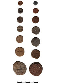 Fig. 14. A selection of 'tokens' from Kaymakçı (N. Gail; © Gygaia Projects).