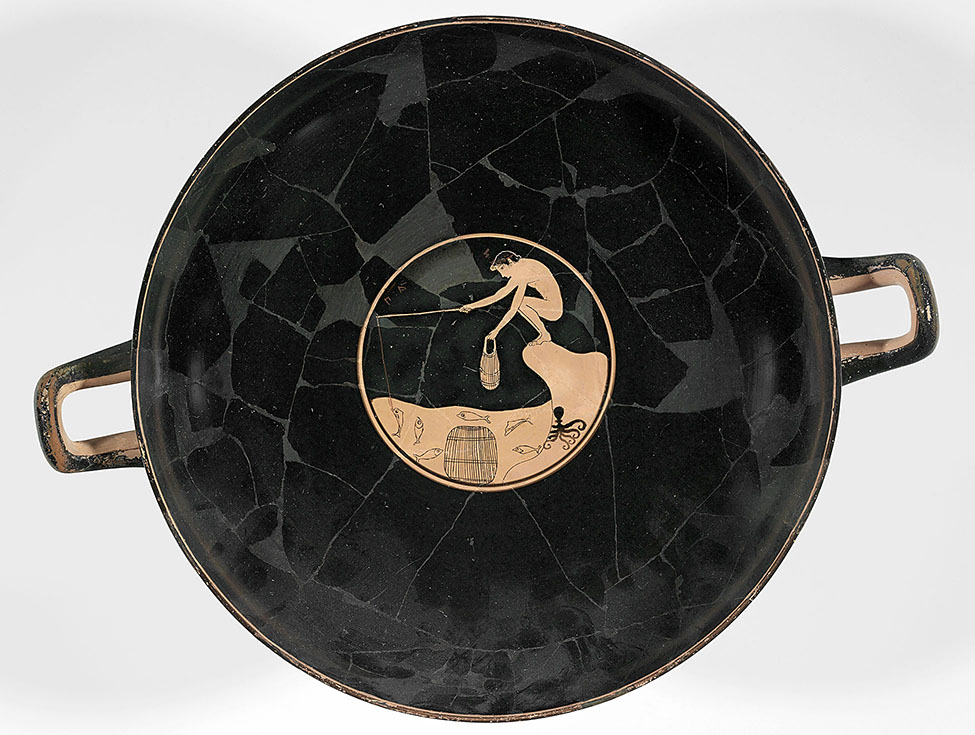 Fig. 1. Attic red-figure kylix attributed to the Ambrosios Painter. Boston, Museum of Fine Arts, inv. no. 01.8024; Henry Lillie Pierce Fund (photograph © 2019 Museum of Fine Arts, Boston).