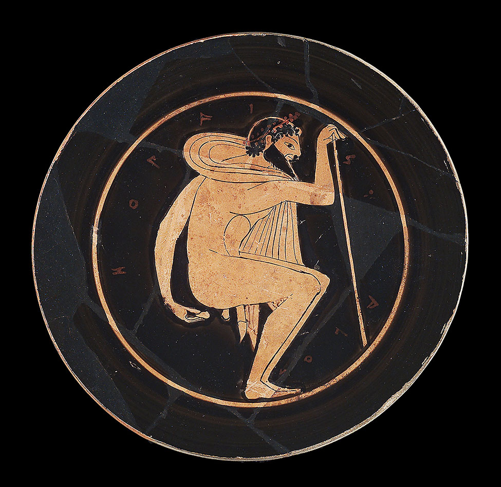Fig. 3. Attic red-figure kylix attributed to the Ambrosios Painter. Boston, Museum of Fine Arts, inv. no. RES.08.31b; Gift of Edward Perry Warren (photograph © 2019 Museum of Fine Arts, Boston).