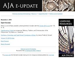 AJA e-Update