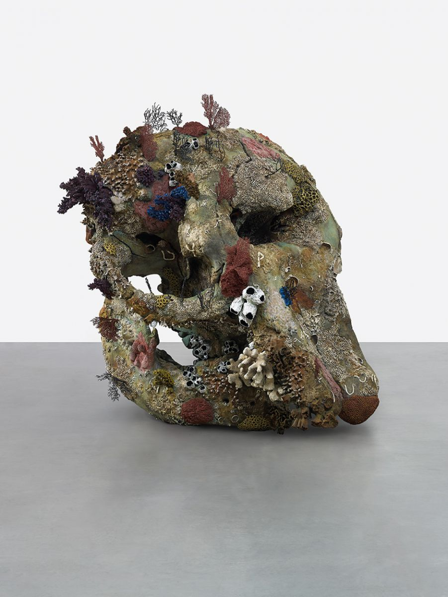 Fig. 3. Damien Hirst, <em>Skull of a Cyclops</em> (Prudence Cuming Associates; © Damien Hirst and Science Ltd. All rights reserved, DACS/ARS 2017).