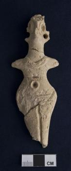 Middle Bronze figurine from Acropolis South deposit.