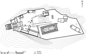 Plan of the Athenian Acropolis.