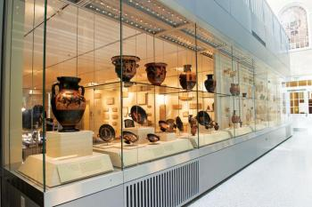 The Johns Hopkins Archaeological Museum.