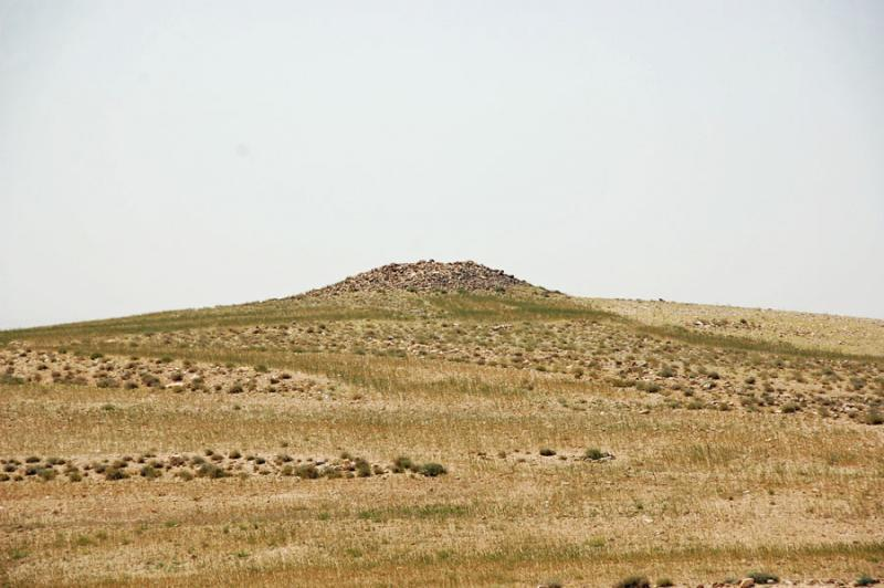 Fig. 77. Rujm al-Bitar, a watchtower documented by the Shammakh to Ayl Archaeological Survey (courtesy Shammakh to Ayl Archaeological Survey).