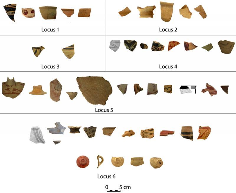 Fig. 1. Finds from Megaron B at Eleusis.