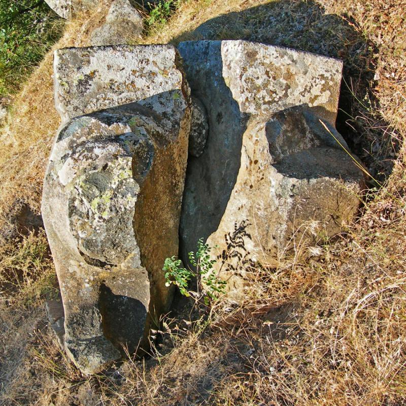 Fig. 4. Front view of the Hapis Boğazı base.