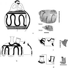 Transport stirrup jars from Tell Abu Hawam.