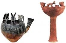 EC I–II Red Polished Ware ritual vessels from Vounous.